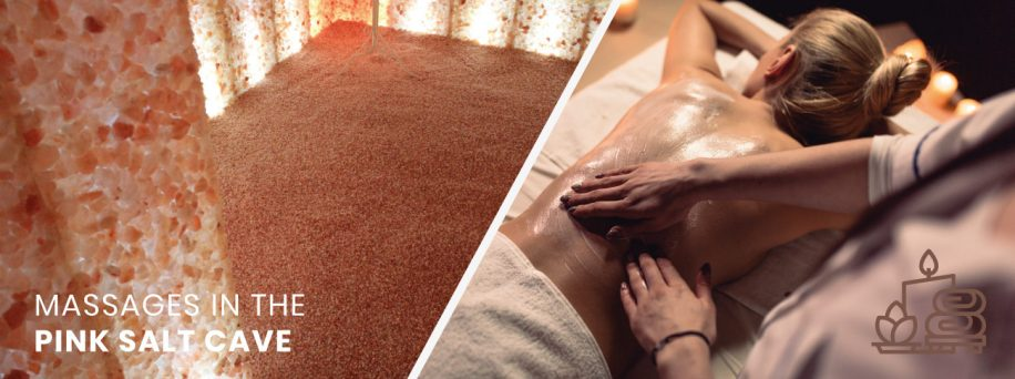 MASSAGES IN THE PINK SALT CAVE